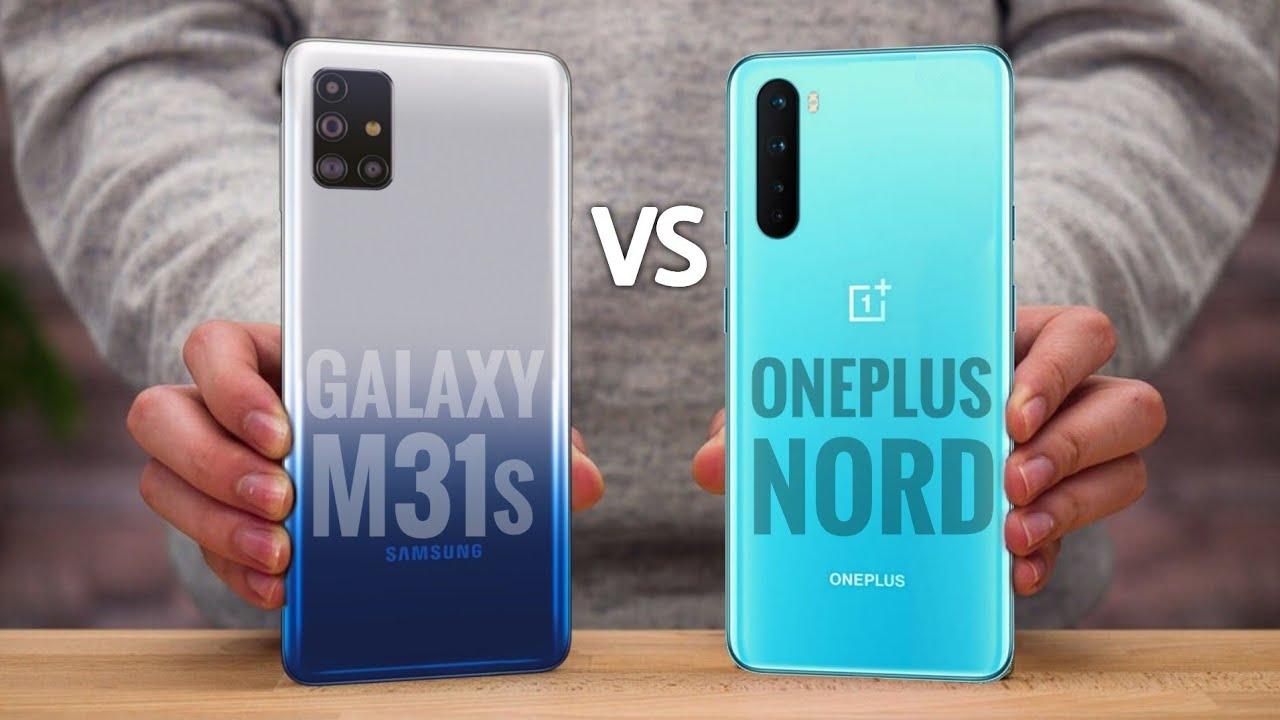 Galaxy M31s vs OnePlus Nord