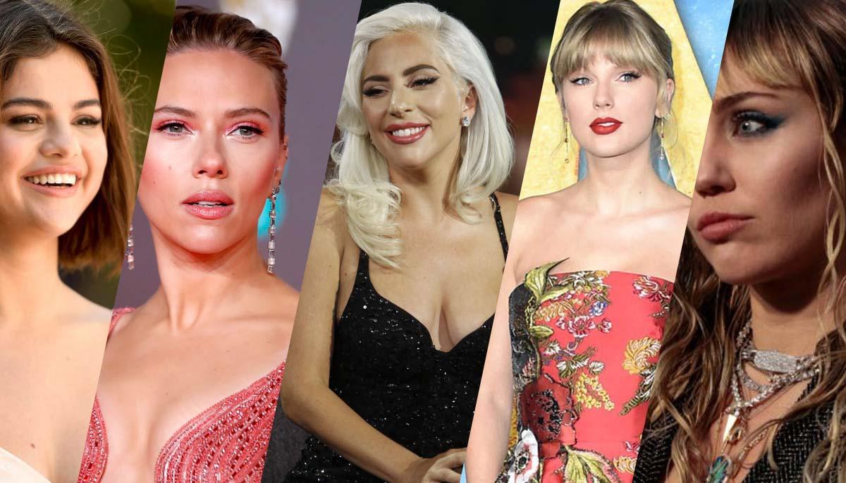 50 Most Popular Women on Web