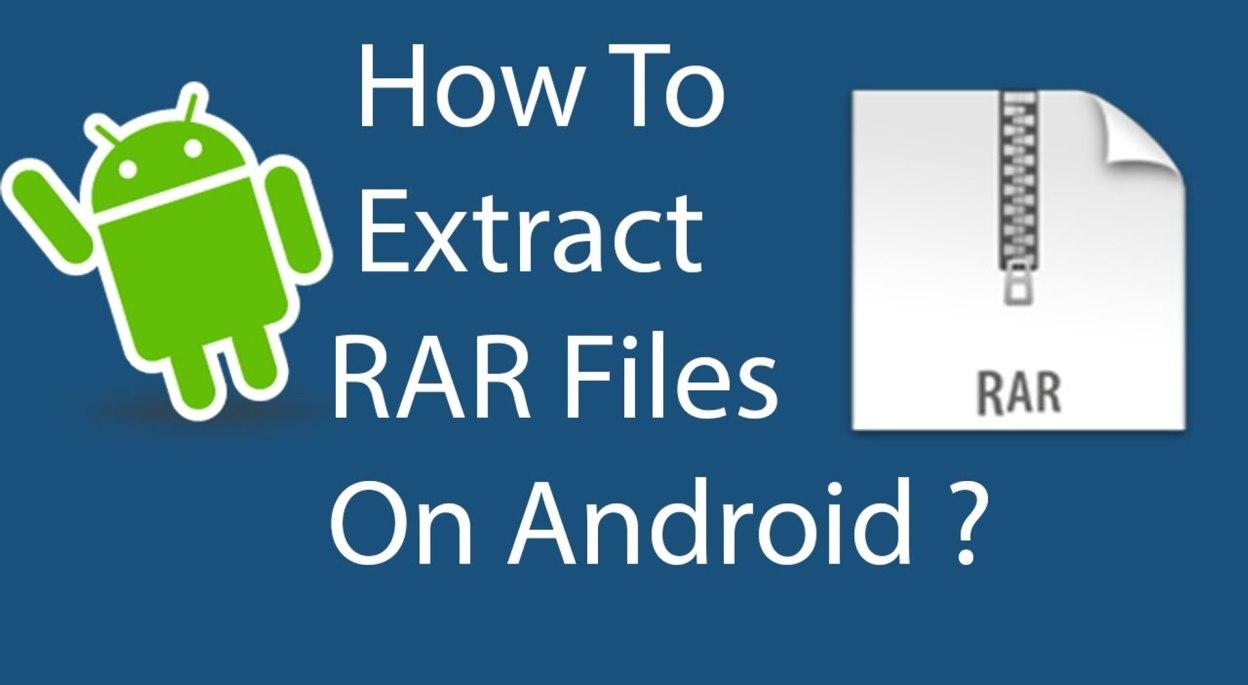 How to Open Rar Files
