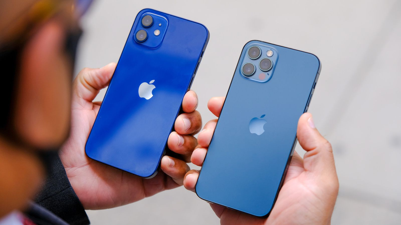iphone 12 blue colors