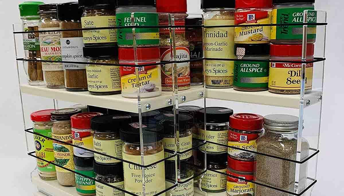 spice drawer organizer