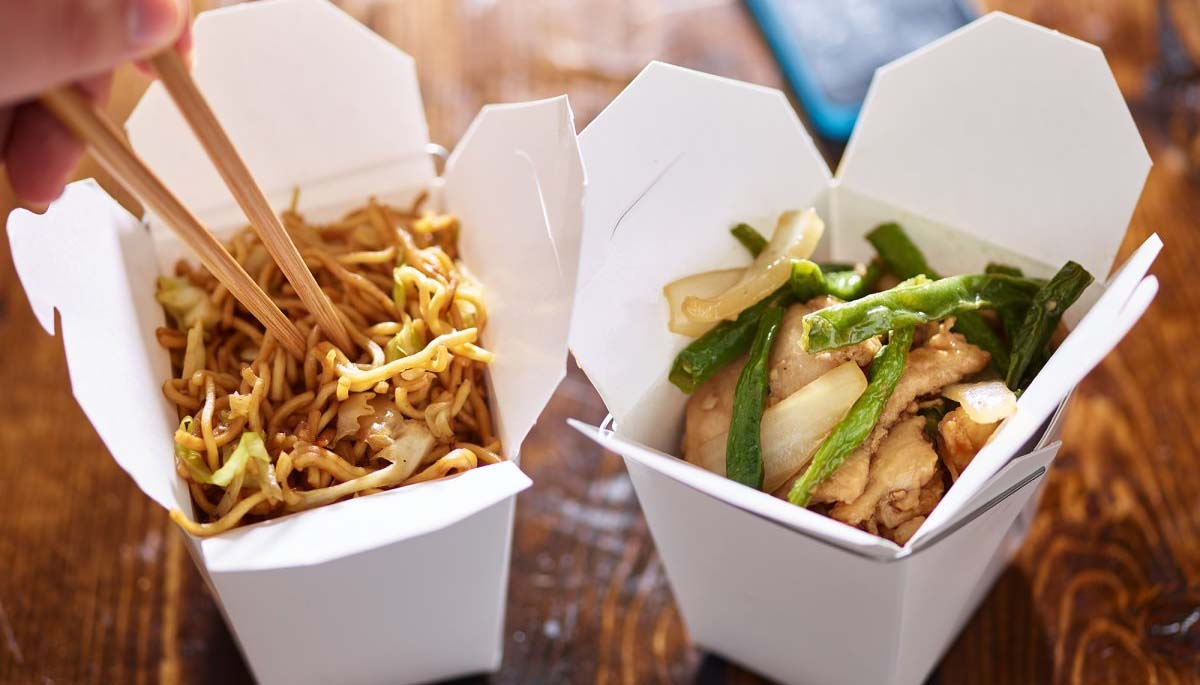 takeout food ites never order from any restaurants