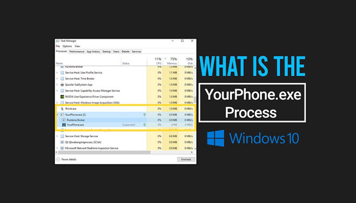 yourphone windows 10