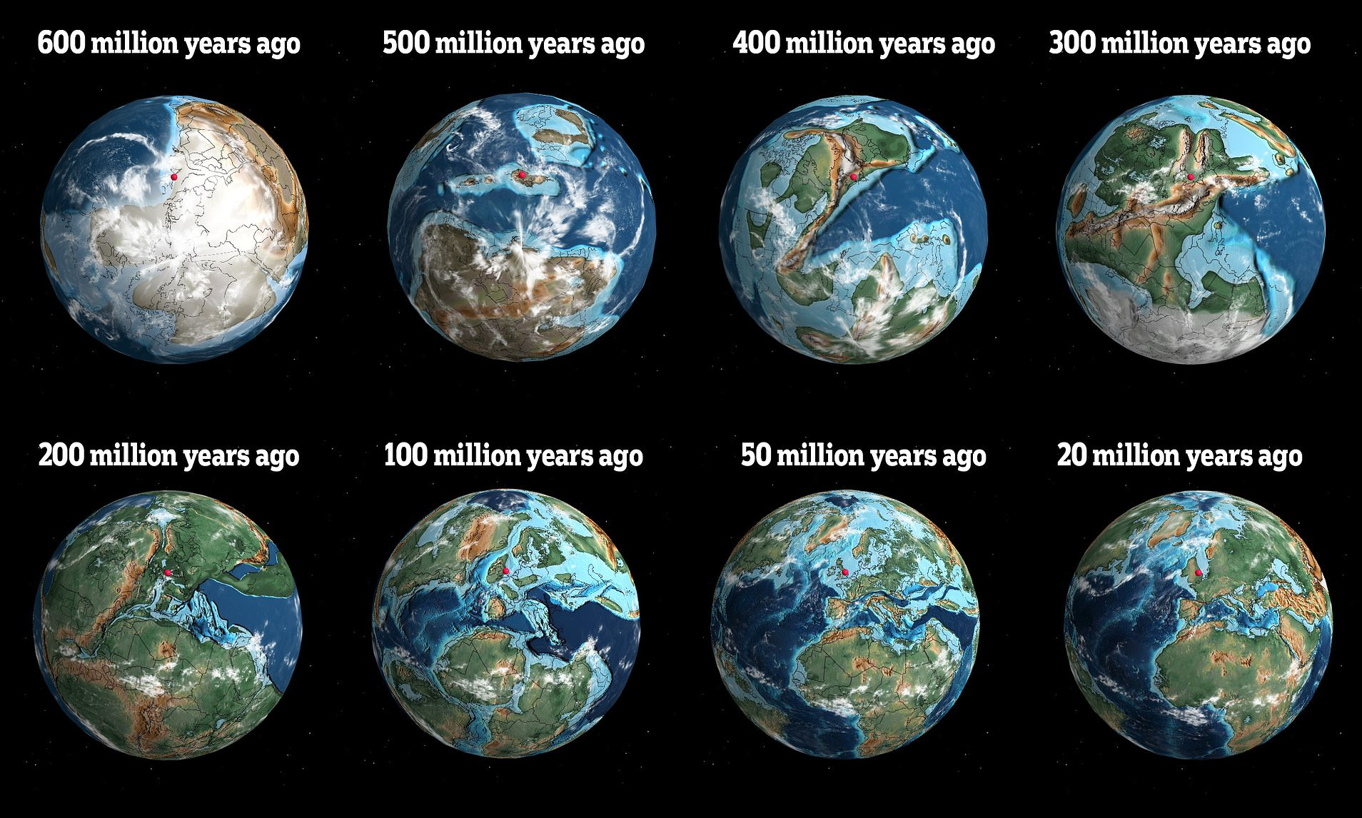 ancient earth history