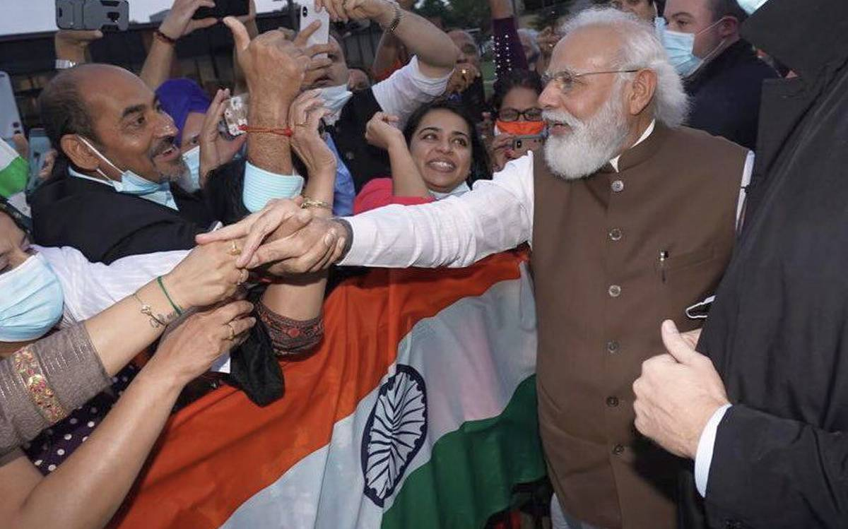 Modi arrives in Washington